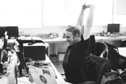 L'ergonomie sur un poste de travail.